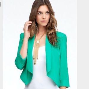Bebe Blazer - Green - Medium